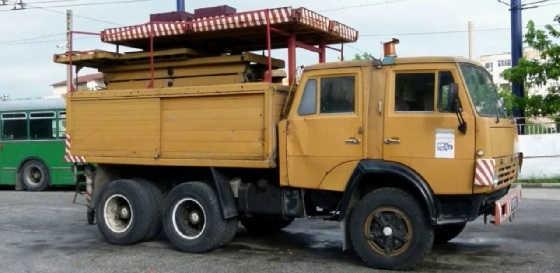 тюнинг на грузовики МАЗ 500 и КамАЗ