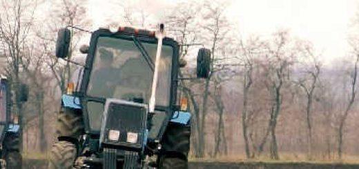 Пахота: Трактор МТЗ-892