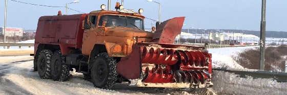 Снегоуборочная машина ЗИЛ-131