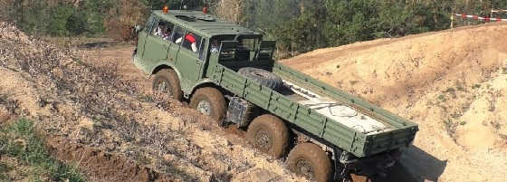 Армейские полноприводные грузовики