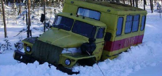 ПО бездорожью севера России на легендарных грузовиках