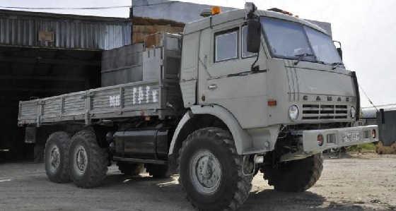КамАЗ 43118 в Якутии