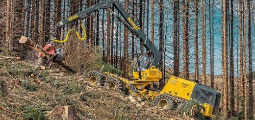 Лесозаготовительная техника для бездорожья