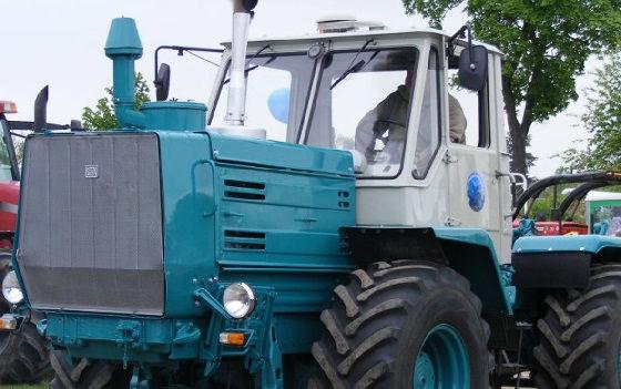 Реставрация трактора Т-150К
