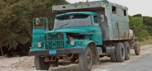 Как делали тюнинг на грузовики КрАЗ