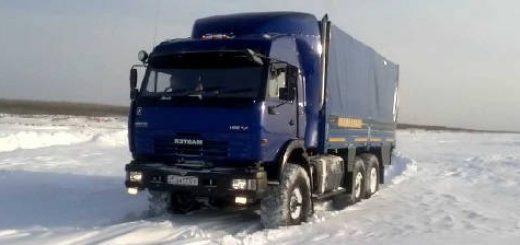 КамАЗ 43118 для Якутии