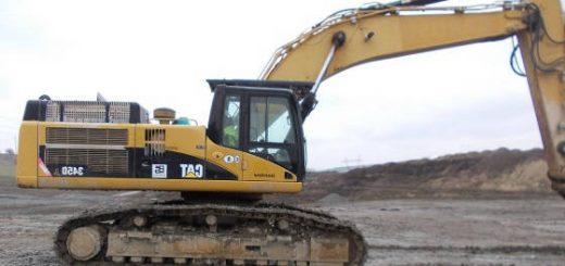 Caterpillar 345C Excavator