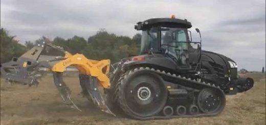 Гусеничный трактор Challenger MT865E