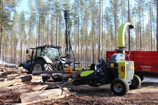 Финская рубительная машина JUNKKARI HJ500C