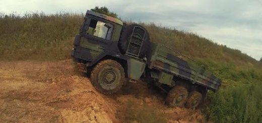 Военные грузовики MAN, ЗИЛ, SCANIA, OSHKOSH