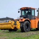 Трактор Станислав МФ705 с финским ротоватором MERICRUSHER MJS-241STG