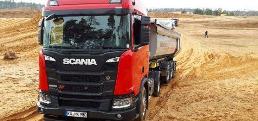 Scania XT Bau