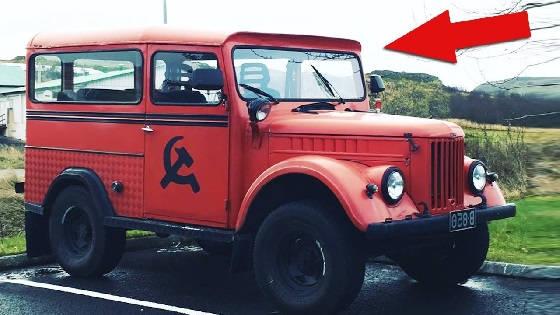 ГАЗ-69 с цельной крышей
