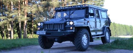 Самодельные внедорожники из ГАЗ-66