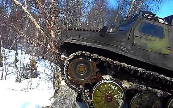 ГТ-Т - легендарный вездеход Крайнего Севера