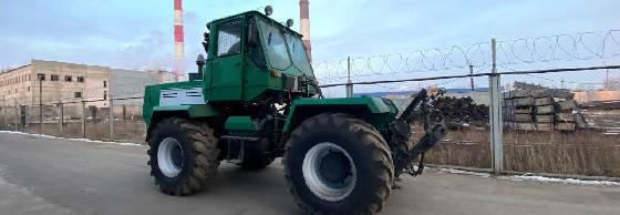 Трактор ХТЗ Т150к с развернутой кабиной
