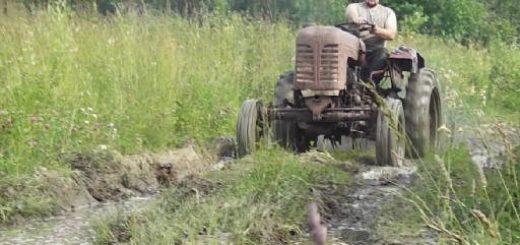 Трактор ХТЗ ДТ-20 1958-го года