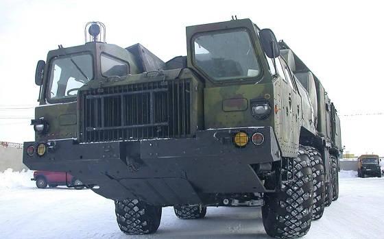 Автокран МАЗ-543
