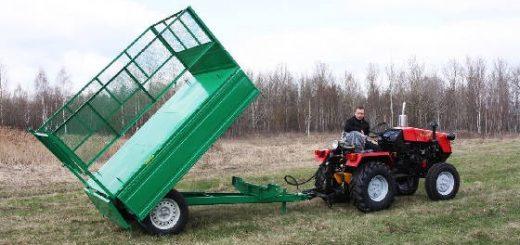 Прицеп самодельный для трактора