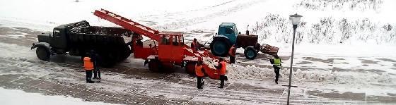 Снегоуборочная техника СССР