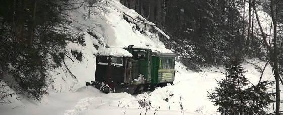 ТУ4 со снегоочестителем