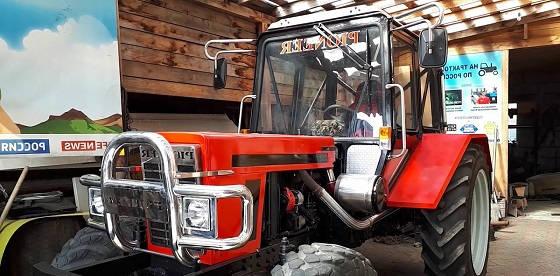 Тюнинг трактора МТЗ Беларус 82.1
