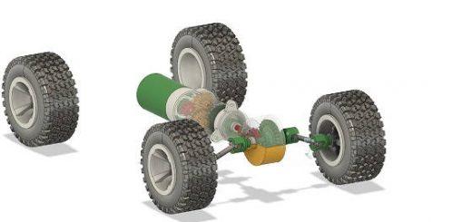 Вездеход На 3D Принтере