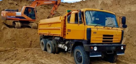 Татра 815 - лучший грузовик Советских шоферов