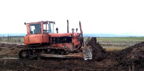 Гусеничный трактор ДТ-75МЛ
