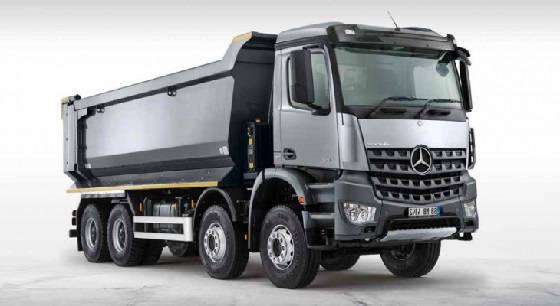 Mercedes AROCS truck