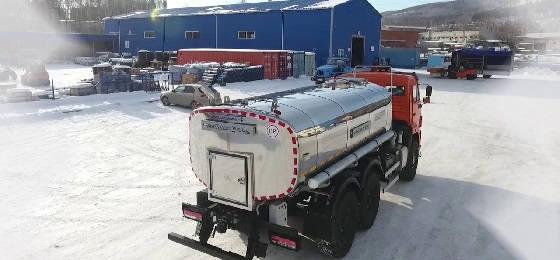 Автоцистерна для питьевой воды АЦПТ-10НО Камаз 43118 6х6