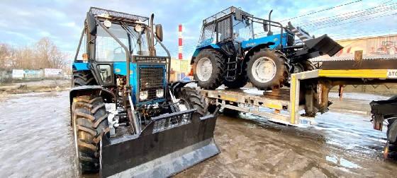 Изготовление лесной защиты на трактор МТЗ Беларус