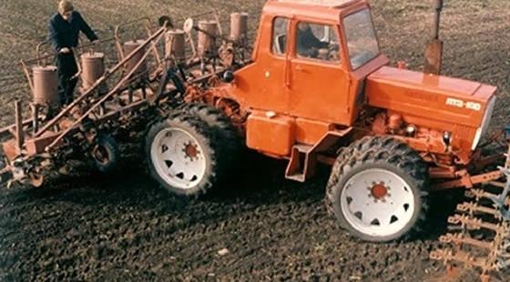 прототип ЛТЗ Т-100