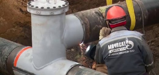 Врезка в Газопровод высокого давления