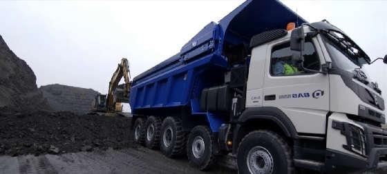 BAS Mining Trucks 12x6 tipper