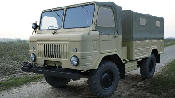 """Первый образец """"шишиги"""" ГАЗ-62"""