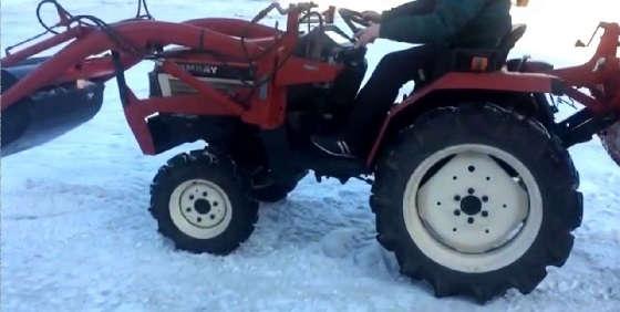 мини трактор YANMAR FX175