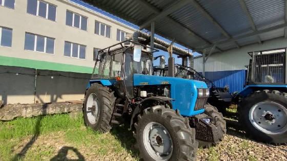 Трактор МТЗ-82 Беларус МУЛ-82.2 с толкателем и лебедкой