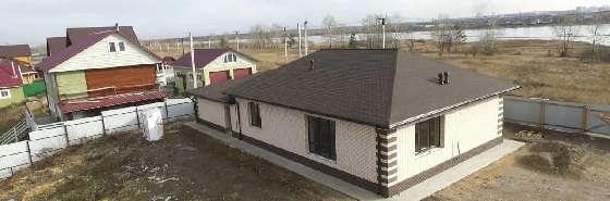 Одноэтажный дом из газобетона