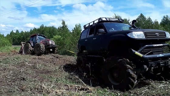 Трактор на базе Toyota Land Cruiser
