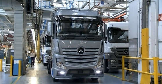Mercedes Actros Production