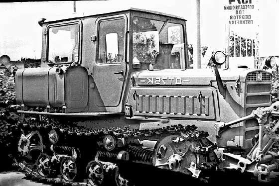 крутосклонный ДТ-75К