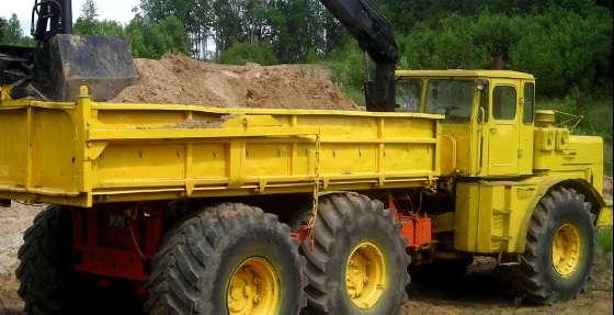 Кировец 6Х6: МОЩЬ трактора К 700
