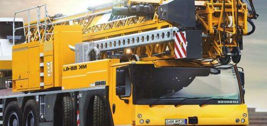 Мобильный строительный кран Liebherr MK88