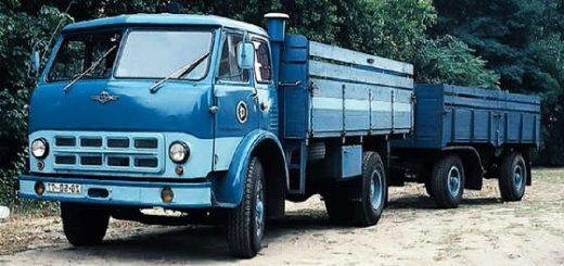 советский грузовик МАЗ 500
