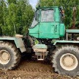 Трактор Т150 с финским ротоватором MERICRUSHER MJS-241STG