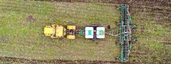 трактор К-701 с навигацией и автопилотом