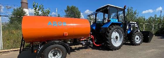 Обзор трактора Беларус 82.1: балочный мост с погрузчиком Турс 1500