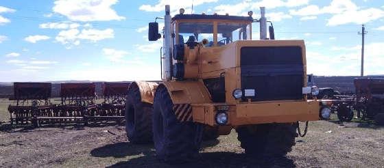 двигатель от БЕЛАЗА и автопилот Trimble на трактор К-701 Кировец