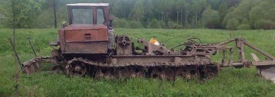 Трактор - ТДТ-55